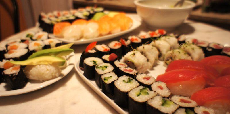 Sushi am Samstag