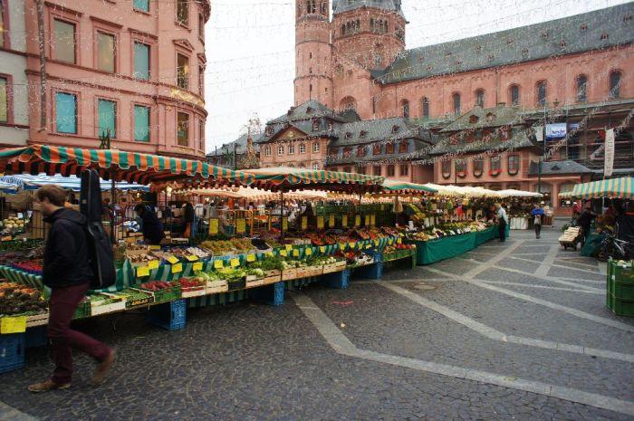 Markt in Mainz