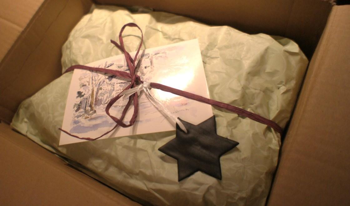 PAMK-Weihnachtsschickerei - Alles gut verpackt und verschnürt :-)