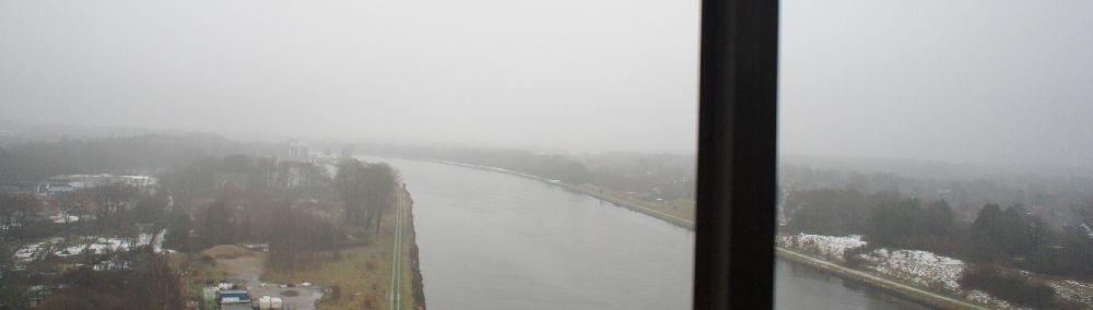 Der Nord-Ostsee-Kanal.