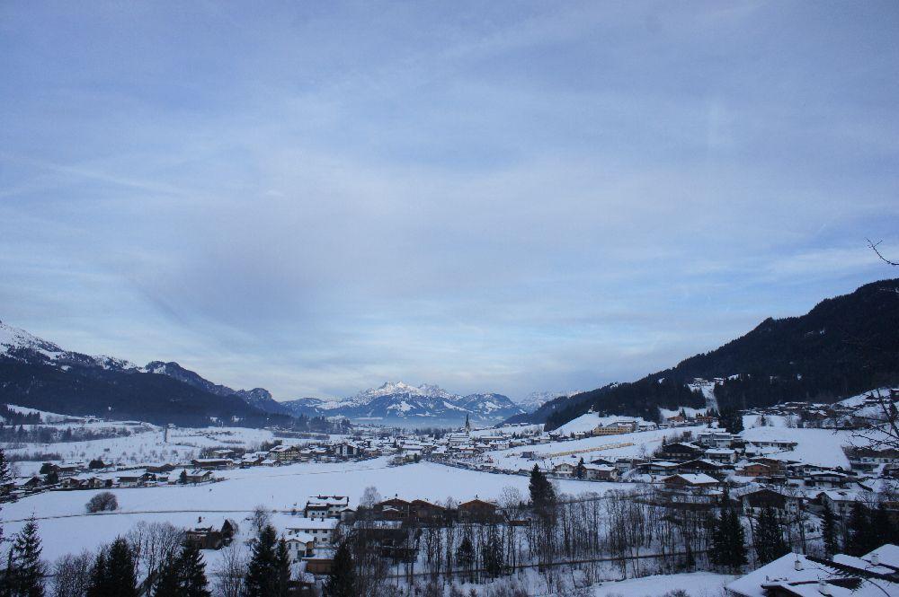 Blick über Ellmau (Tirol)