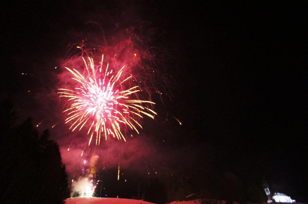 (Klang-)Feuerwerk am Neujahrstag - beim Empfang in Ellmau