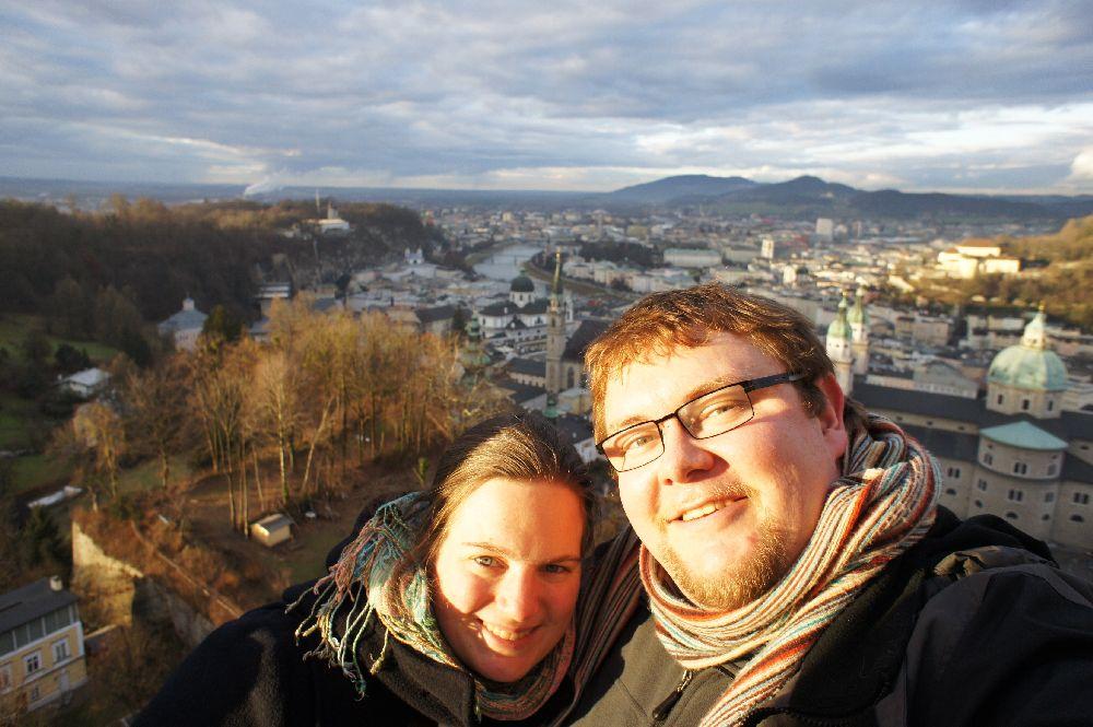 Moin und Servus über Salzburg ;-)