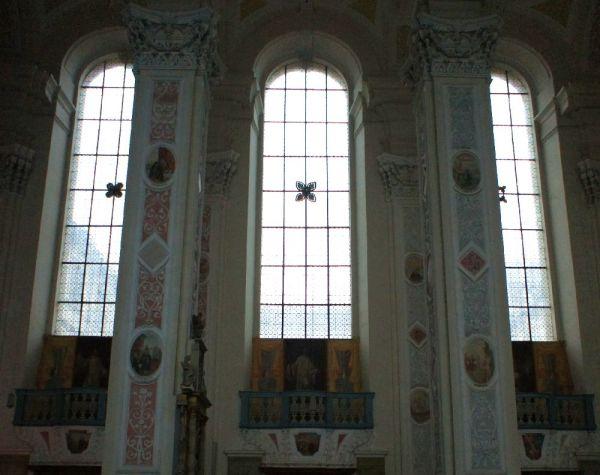 Kloster Schöntal - Fenster Klosterkirche (c)moinservus