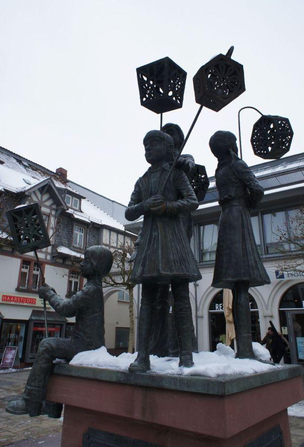 Laternenfestbrunnen, Bad Homburg (c)moinservus!