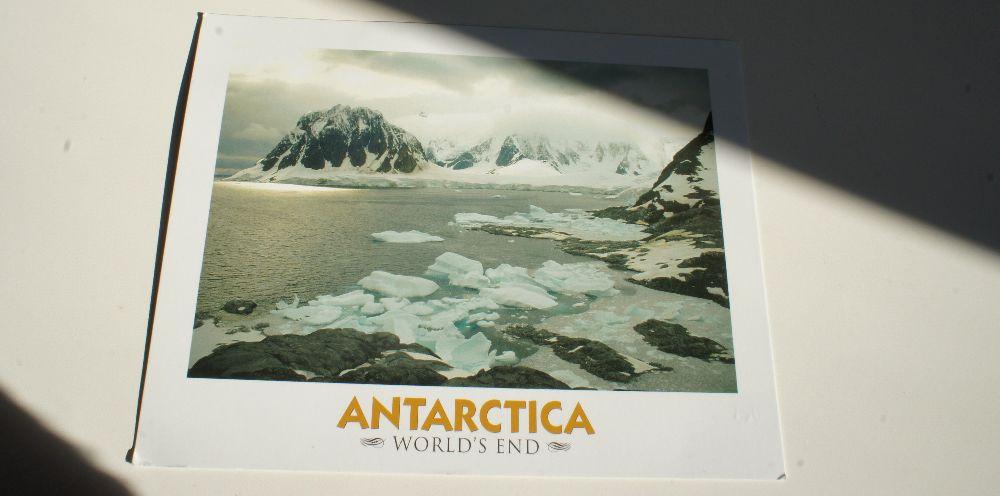 Die gewonnene Karte von Inka aus der Antarktis ist angekommen. Danke!