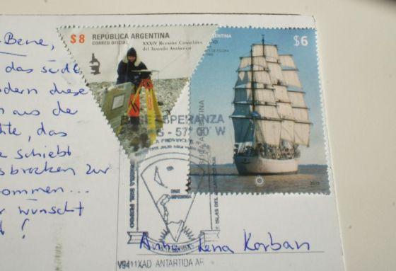Briefmarken aus der Antarktis