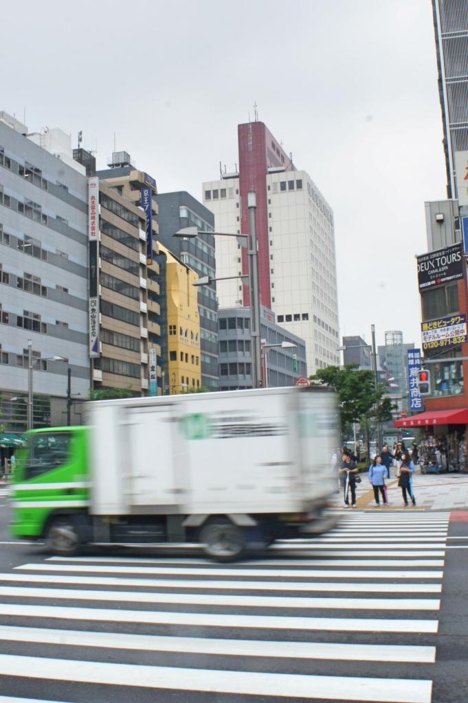 Harumi dori, Tokyo