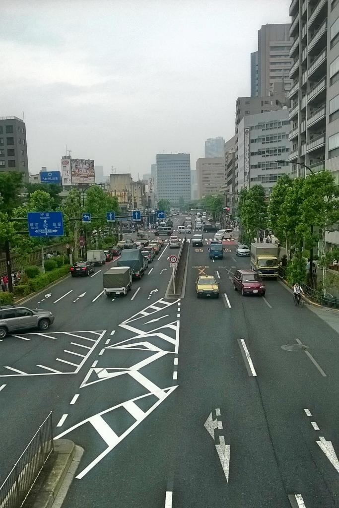 Shin-Ohashi dori, Tsukiji, Tokyo